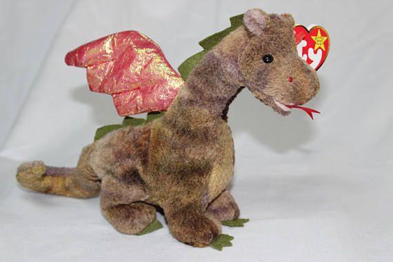 Ty Beanie Baby Scorch the Dragon  da490f0451b
