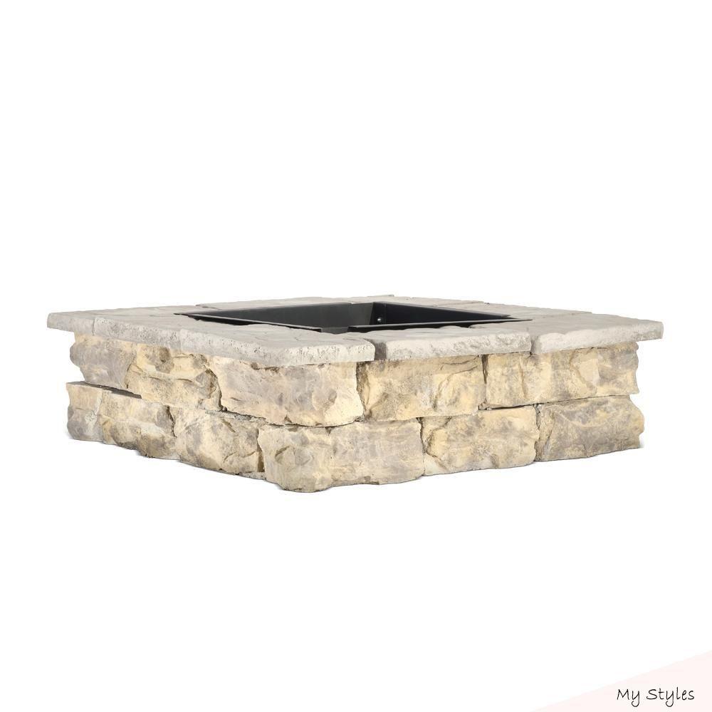 Dec 13 2018 28 In X 14 In Steel Wood Fossill Limestone Square
