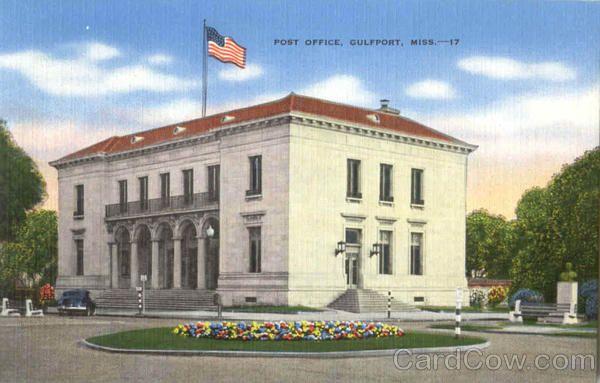 Post Office Gulfport Ms Post Office Gulfport Gulfport Mississippi