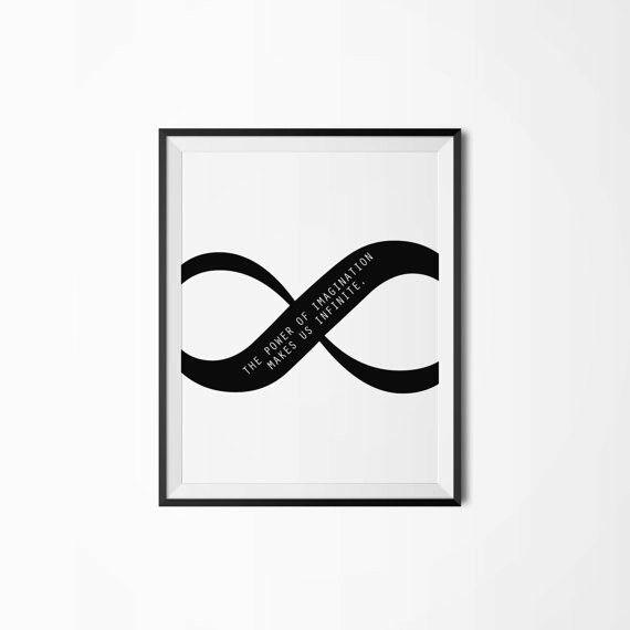 Infinity Symbol The Power Of Imagination Makes Us Infinite