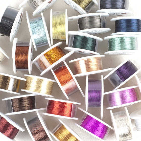 Craft Wire- 28 Gauge wire- Wire Crochet wire- Pick Your Color ...