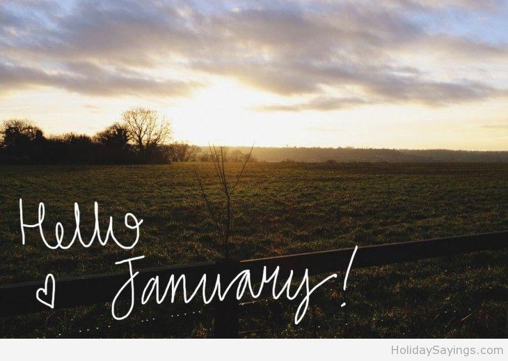 Love Hello January 2015 Wallpaper Seasons Of The Year