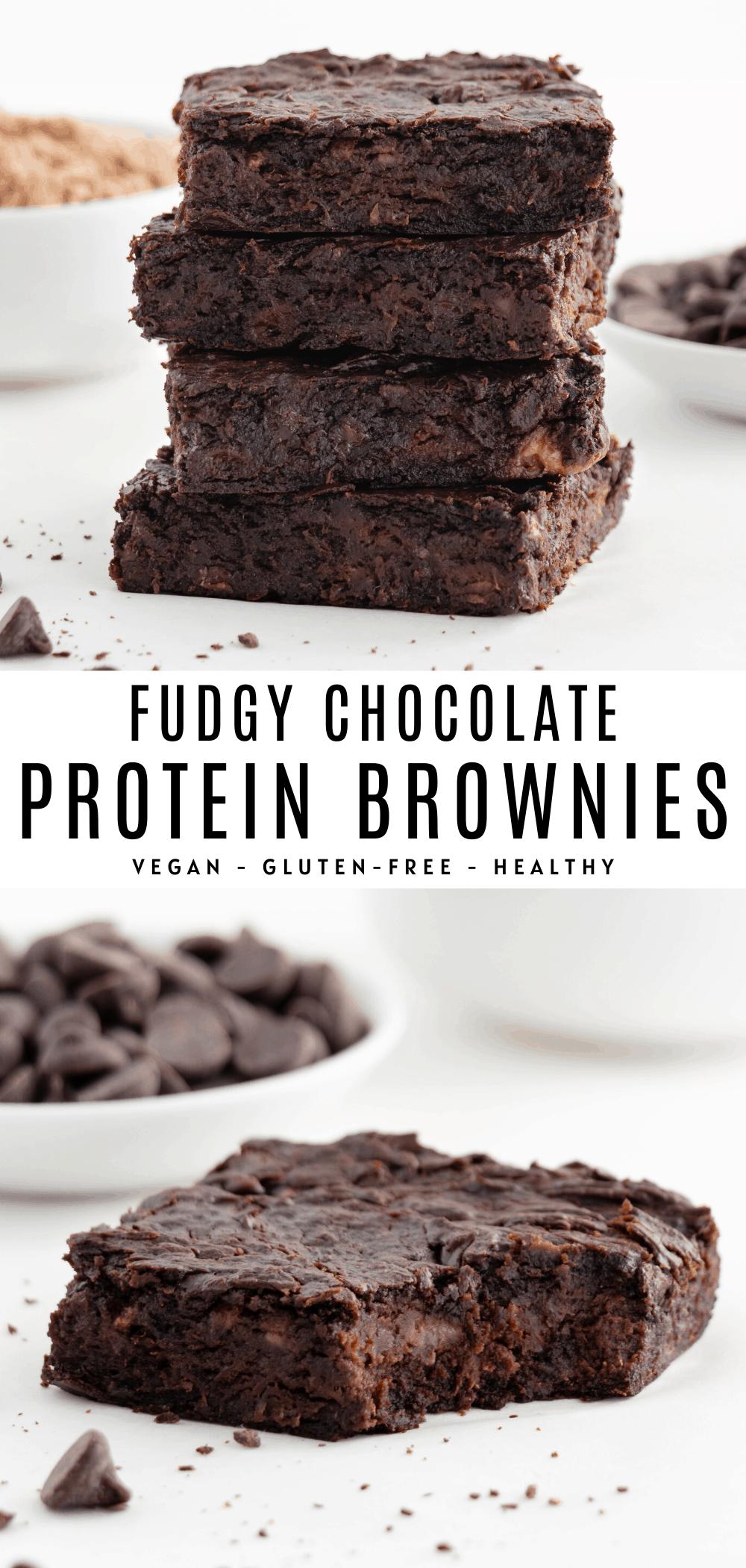 Photo of Vegan Protein Brownies