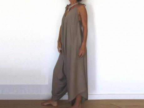 Assez Patron de couture téléchargeable- Salopette Sarouel pour femme  IZ48