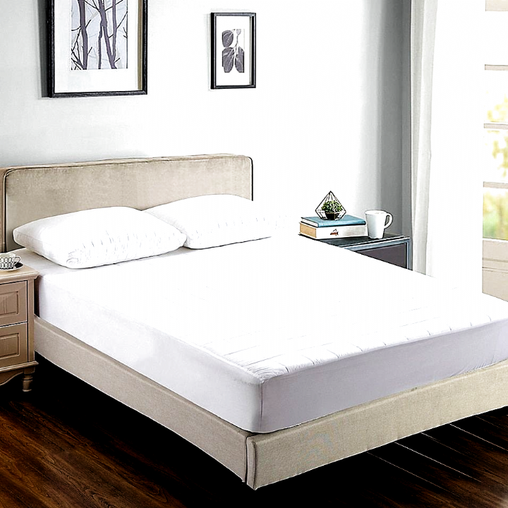 Bambu Serenity Cooling Twin Mattress Pad White Sleep Like
