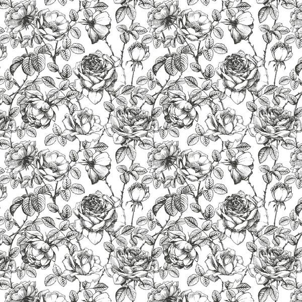 Black And White Floral Wallpaper White Wallpaper Floral Pattern