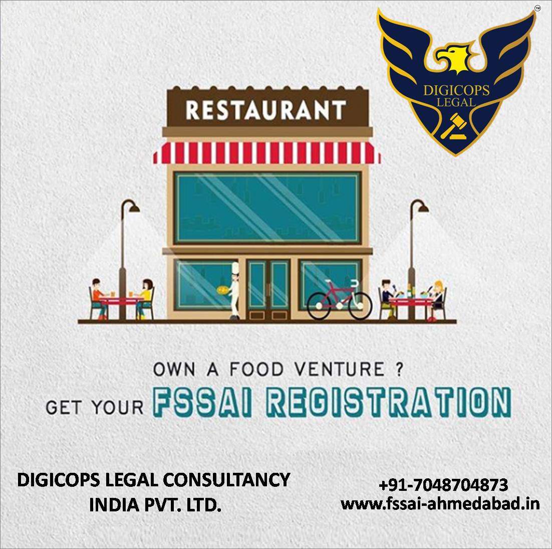 FSSAI consultant Vadodara Food license, Ahmedabad, Food