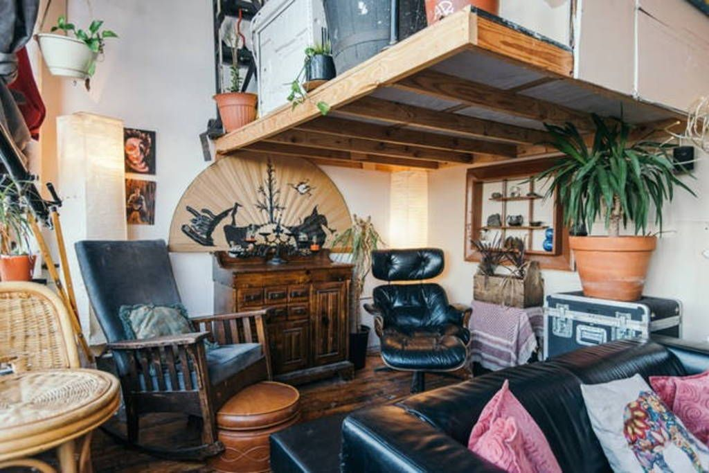 Check Out This Awesome Listing On Airbnb Loft With Manhattan Skyline View 2 Apartments For Rent In Bro Apartment Living Rental Property Apartments For Rent