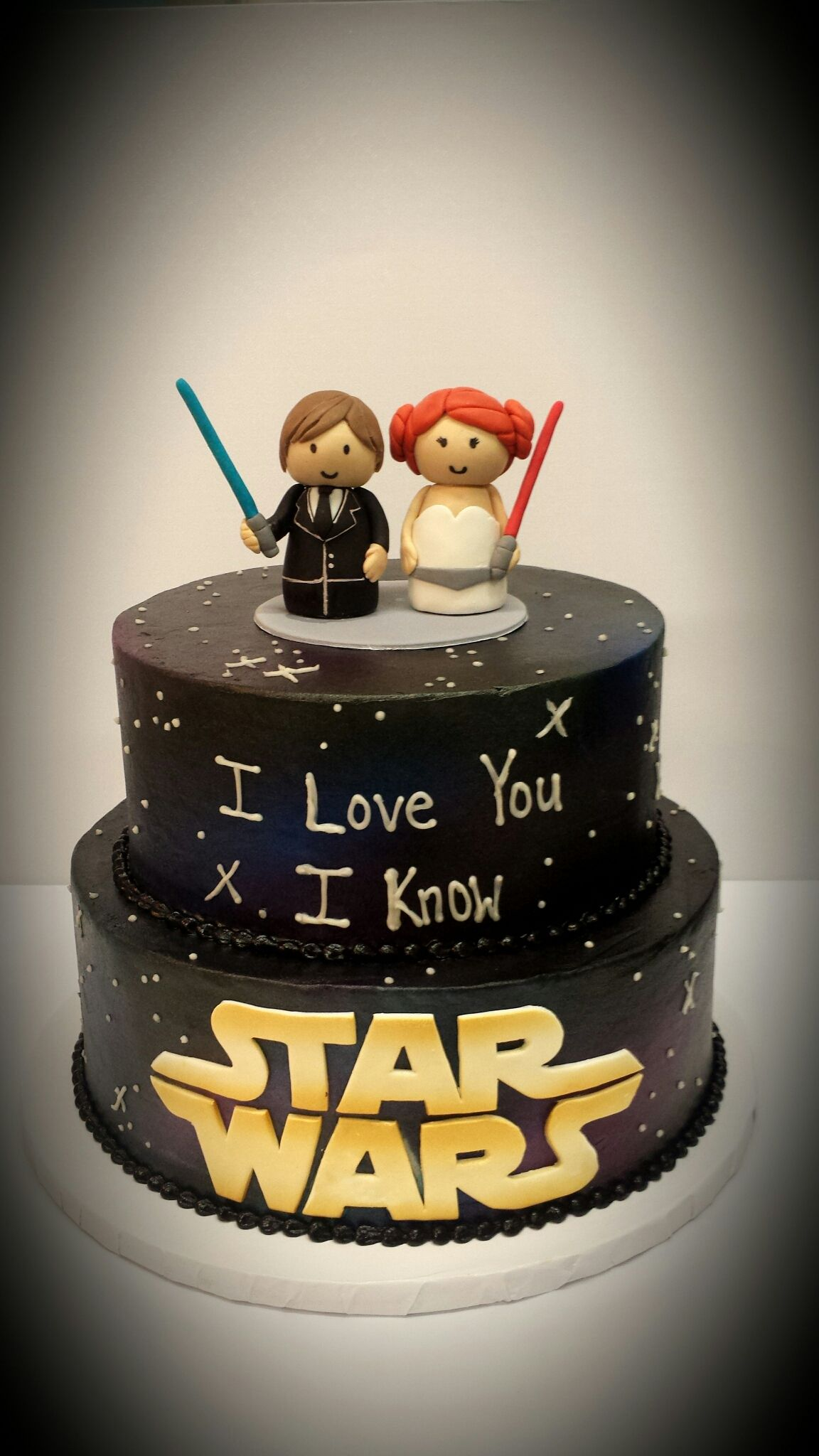 Small Crop Of Star Wars Wedding Cake