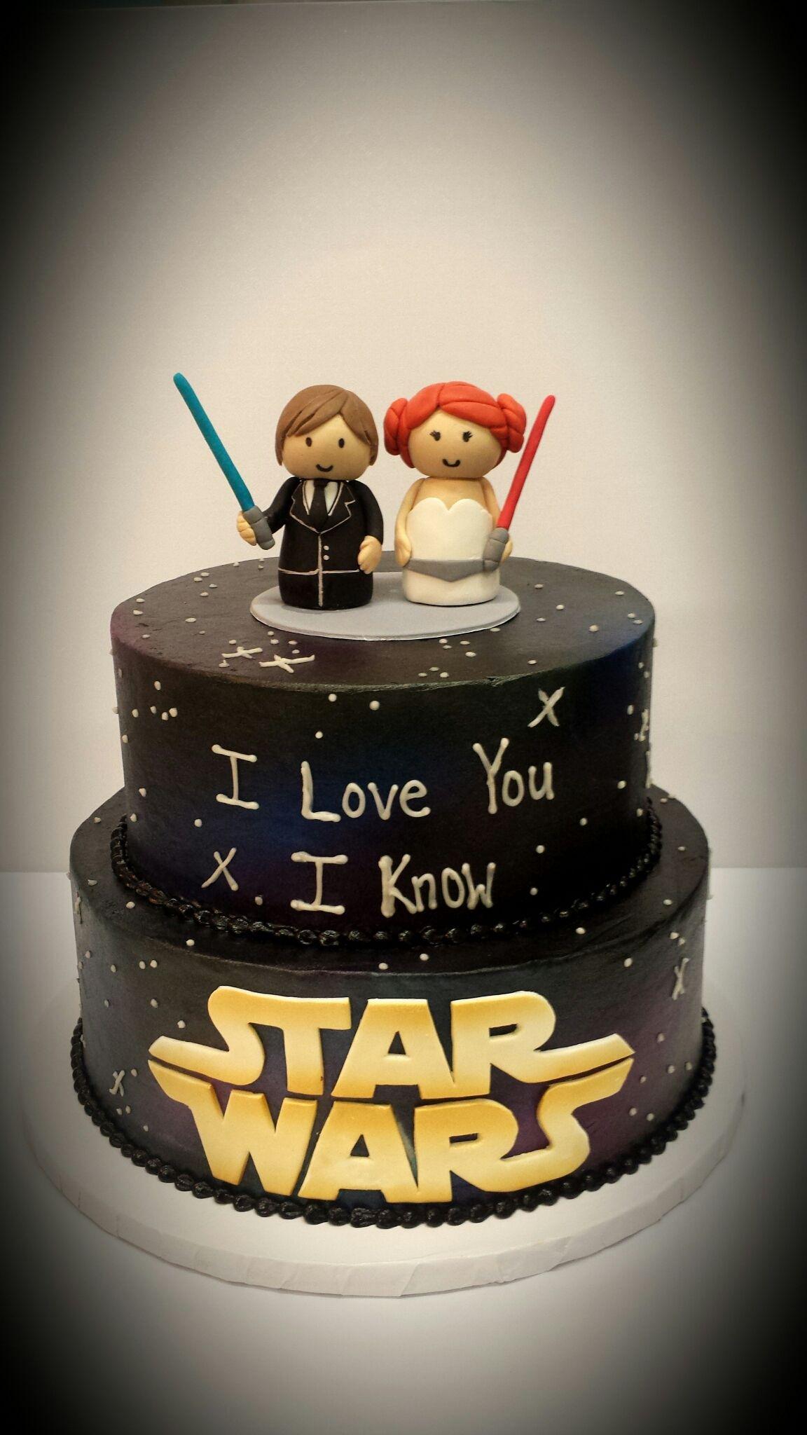Small Crop Of Star Wars Wedding Cake