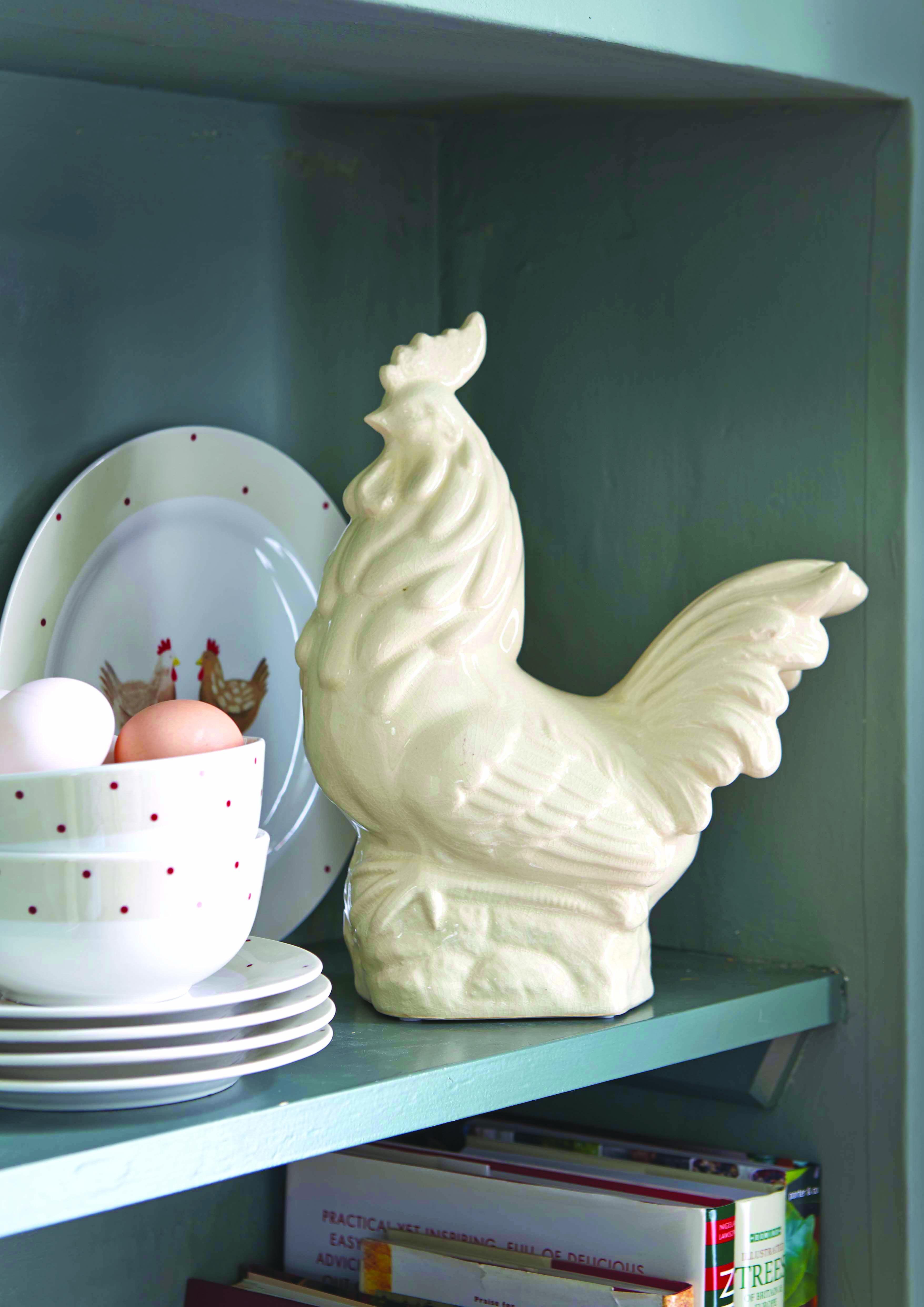 Farmstead Collection Ceramic Chicken #farmstead #farm #chicken #cermaic #decor