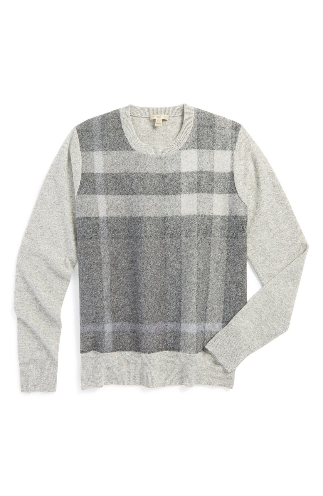 Cold Weather Basic Layer A Crewneck Sweater With A Collared Shirt