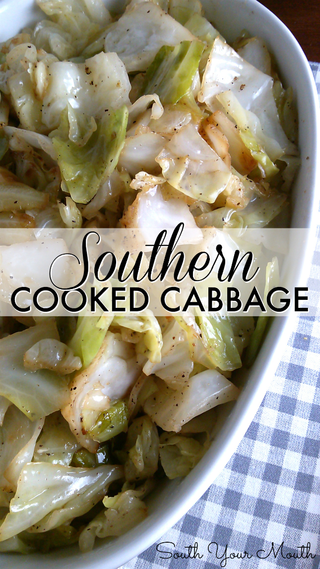 Photo of Southern Cooked Cabbage