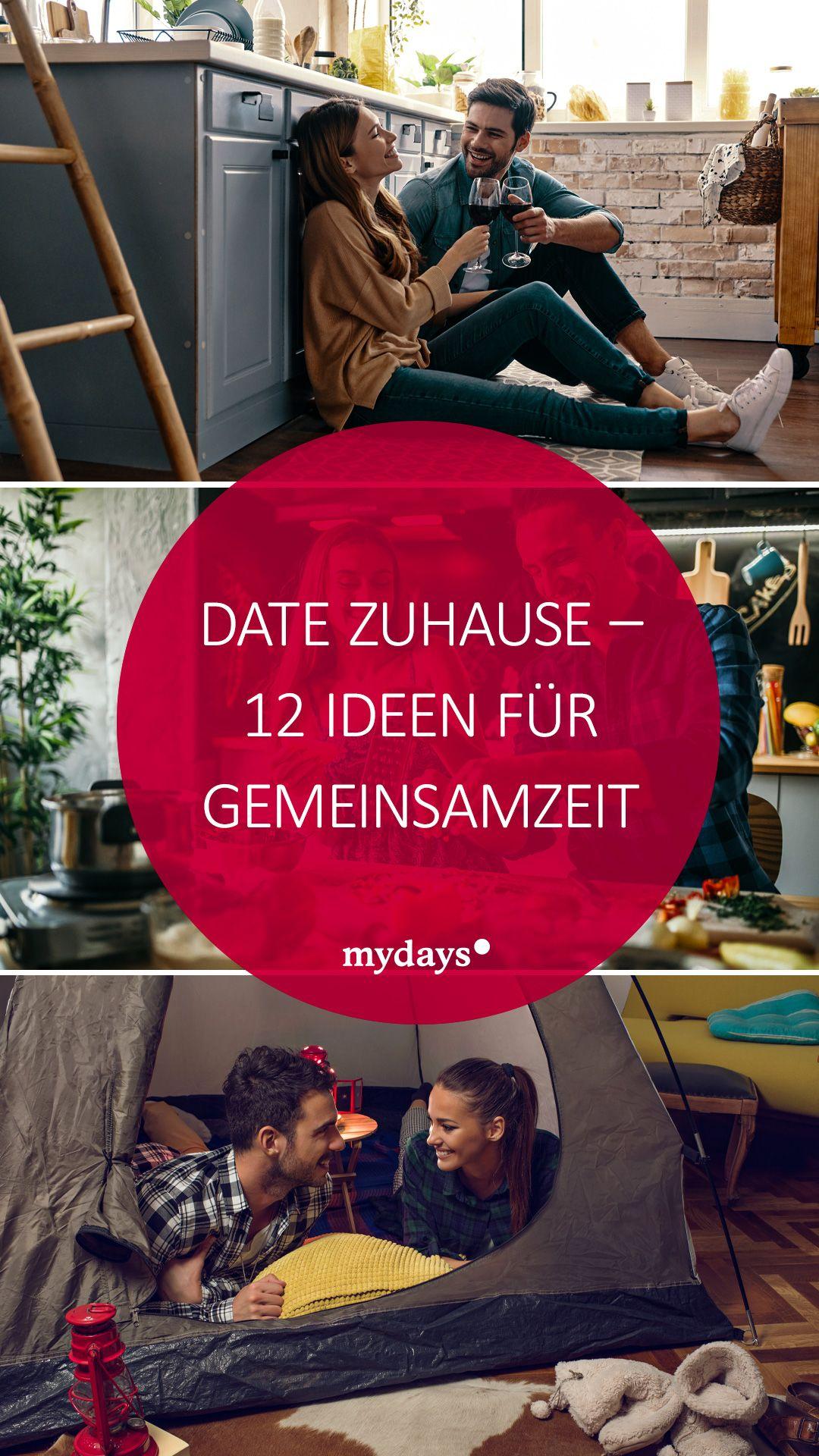 Date Zuhause - 12 Ideen für Gemeinsamzeit | mydays Magazin