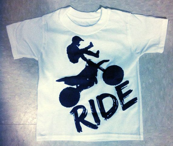 kids dirt bike shirt