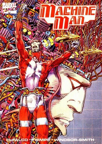 Machine Man cover by Barry Windsor-Smith
