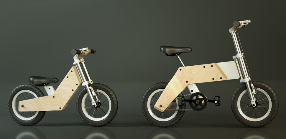 Miilo Bike Goes From Push To Pedal With A Flip Of The Frame