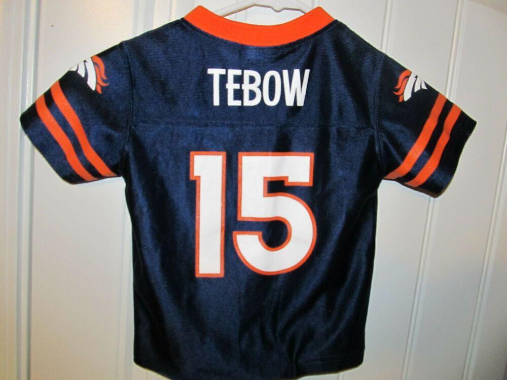 huge selection of 6cc8f 0162c Tim Tebow - Denver Broncos Jersey - NFL Toddler 3T #NFL ...