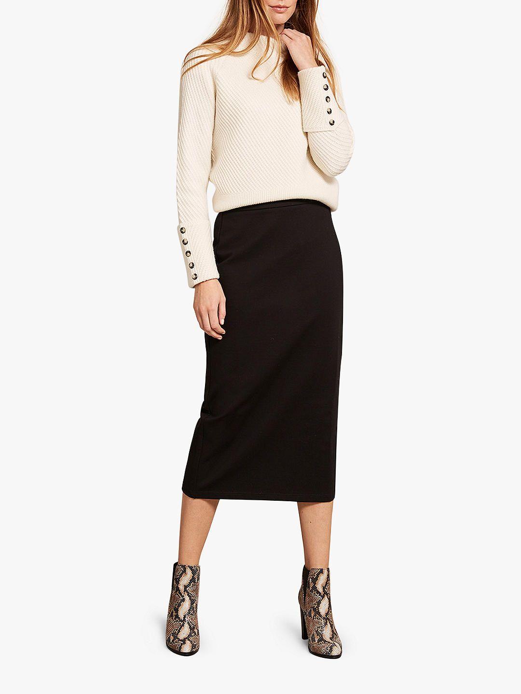 f419277276 BuyMint Velvet Ponte Pencil Skirt