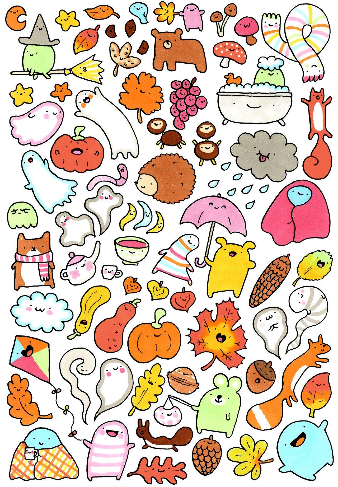 Pinterest Diy Home Decor Crafts Kawaii Doodles On Pinterest Doodle Monster Kawaii