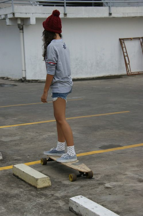 Skate Girl Tumblr Girls Skate Too Skater Girl Style