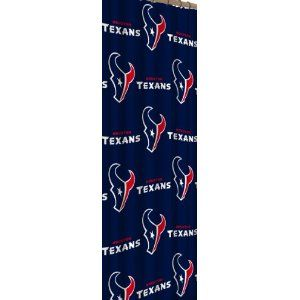 Texans Shower Curtain Houston Curtains Football