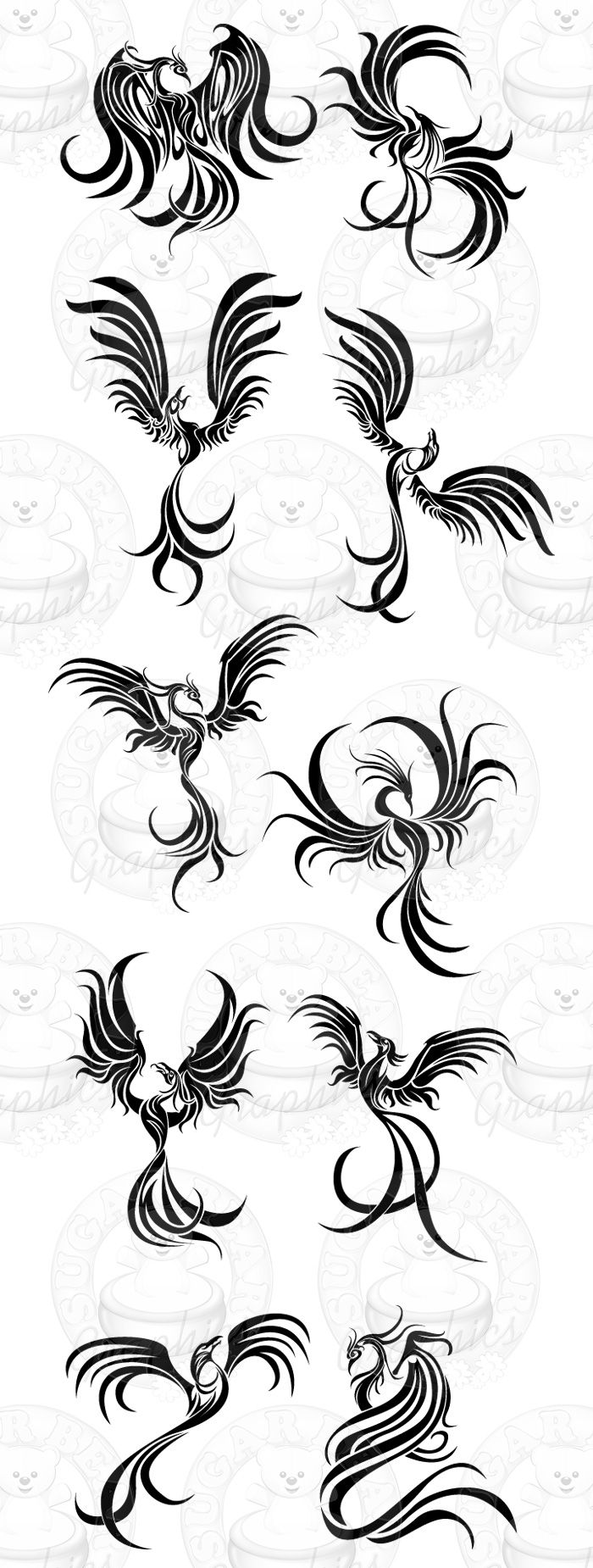 Tribal Tattoo Designs The Body Is A Canvas Tribal Phoenix Tattoo Tribal Tattoo Designs Tribal Tattoos