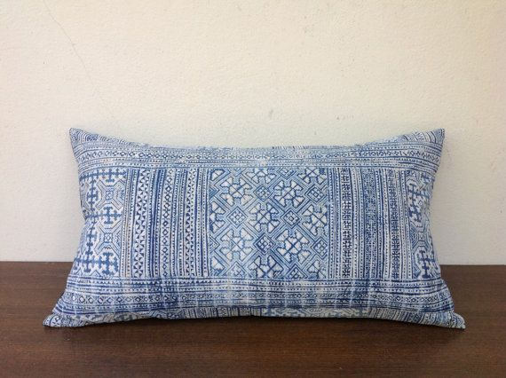 Vintage Textile Decorative Throw Pillow Made Of by orientaltribe11, $45.00