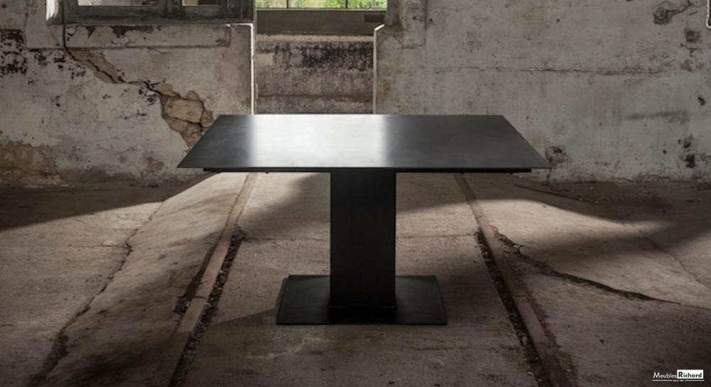 Table Carree Extensible Ceramique Design Table Extensible Meubles