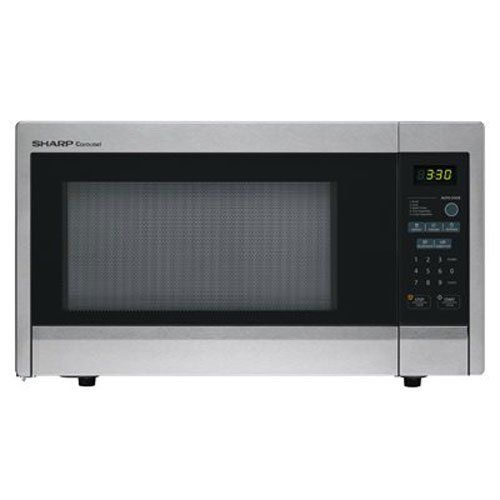 Sharp R 331zs Microwave 1 Cu Ft Stainless Steel Standard Https