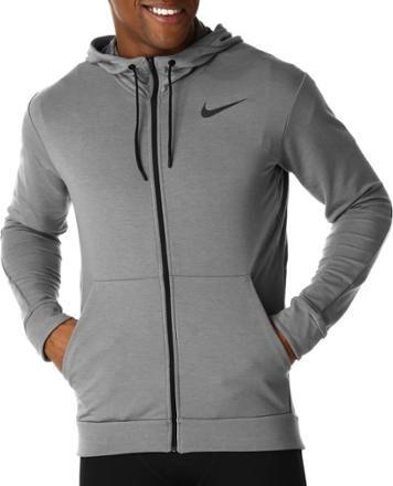 f00b8a5d3a83 Nike Men s Dri-FIT Full-Zip Training Hoodie Cool Grey Black XL ...