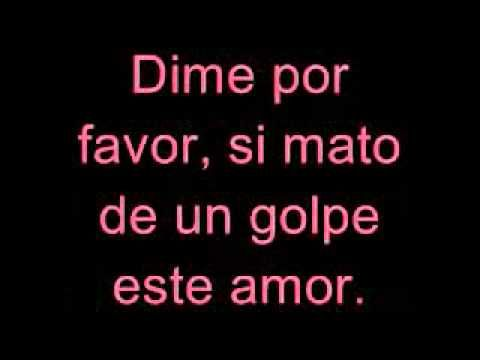 Dime Julion Alvarez Letra 2014 - YouTube