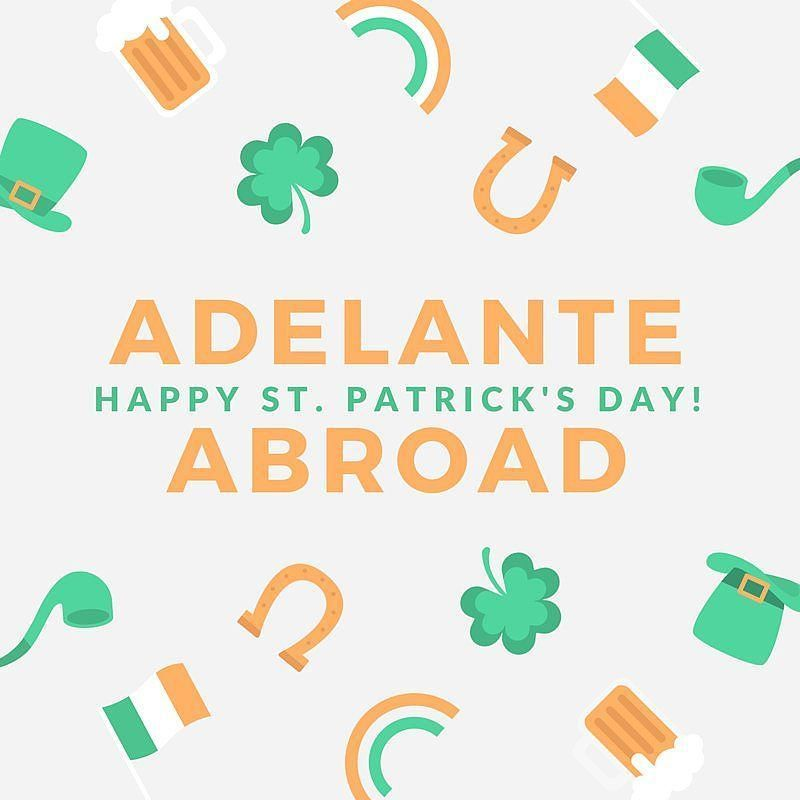 From us to you! #happystpatricksday #stpatricksday #luck #lucky #international #travel #studyabroad #internabroad by adelanteabroad