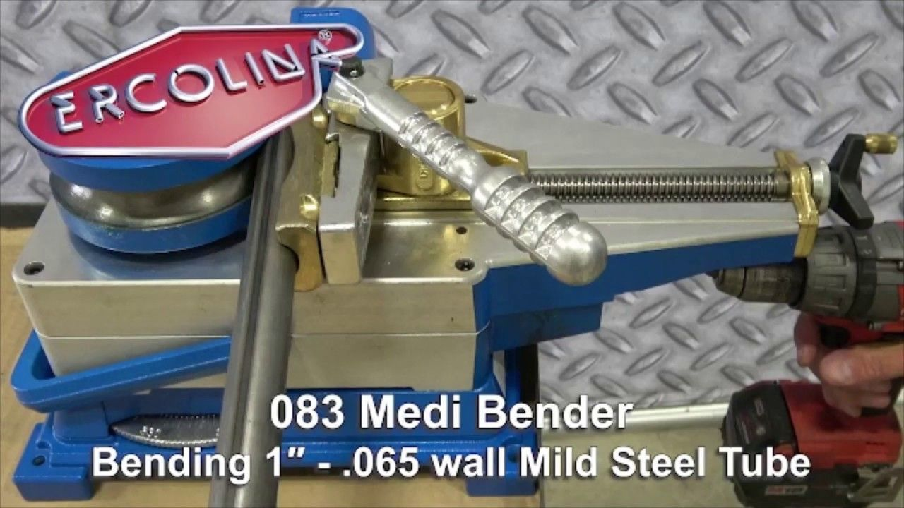 Sierra Victor Machinery Ercolina 083 Medi Bender Portable Manual Tube In 2020 Bender Tube Science And Technology