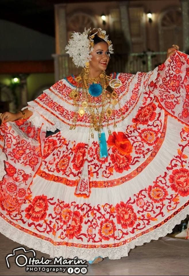 Polleras de Panama | Panama Culture | Panama, Fashion, Saree