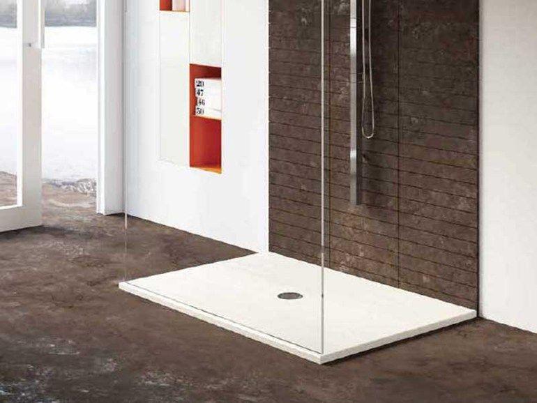 Piatto Doccia In Gres Porcellanato Slim By Gammastone Interiors