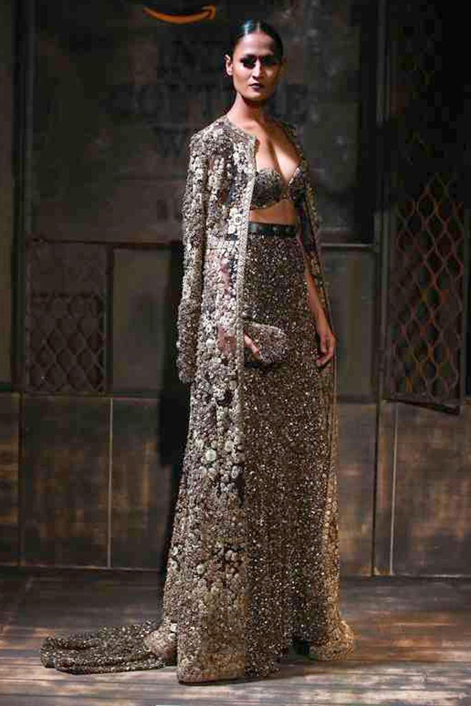 Amazon India Couture Week Displays Opulence and Bo