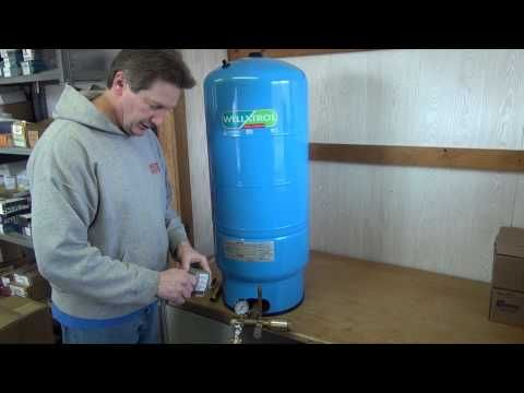 Introduction To Sizing And Installing A Cold Water Pressure Tank Youtube Pressure Tanks Well Tank Well Water System