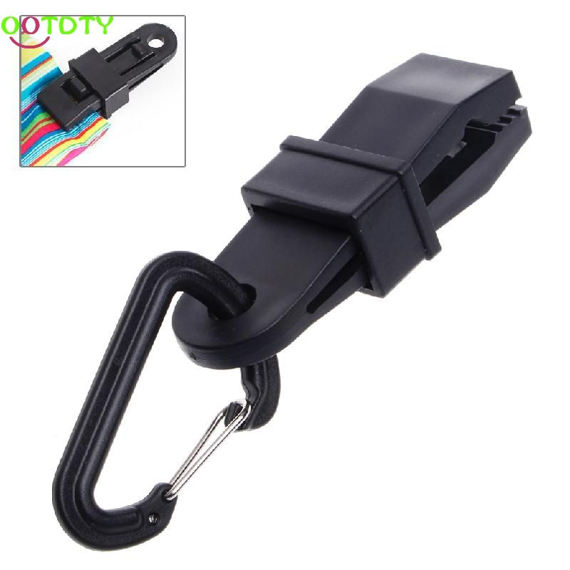 Camping Tarp Clips Clamp Awning Tent Hanger Survival Emergency Snap Buckle Tool Awning Accessories Tent Accessories
