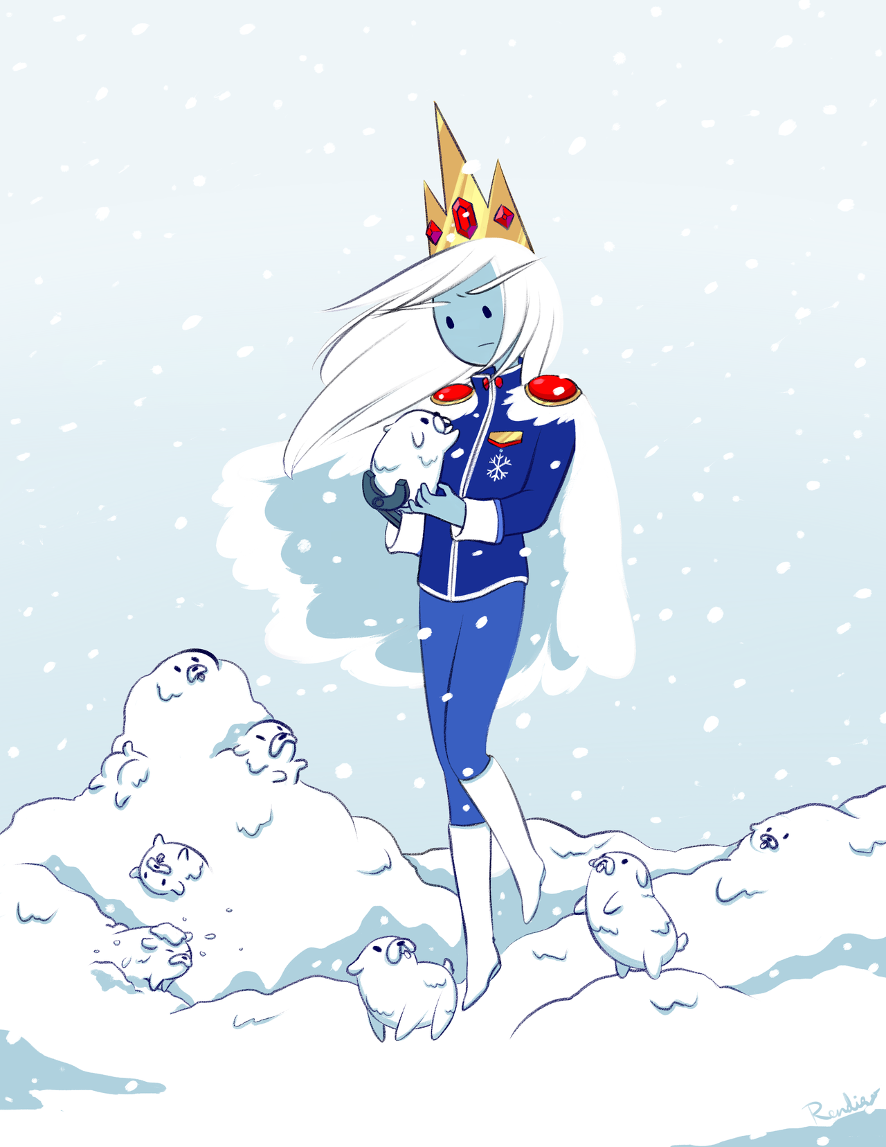 Pin By Heidi Vogt On Adventure Time Ice Queen Adventure Time Adventure Time Anime Ice King Adventure Time