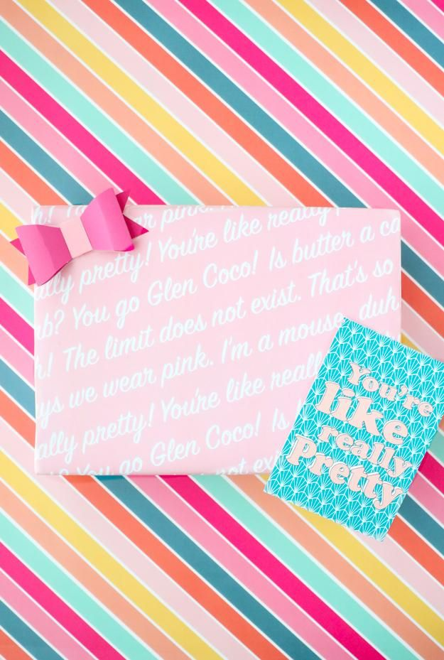 MEAN GIRLS WRAPPING PAPER