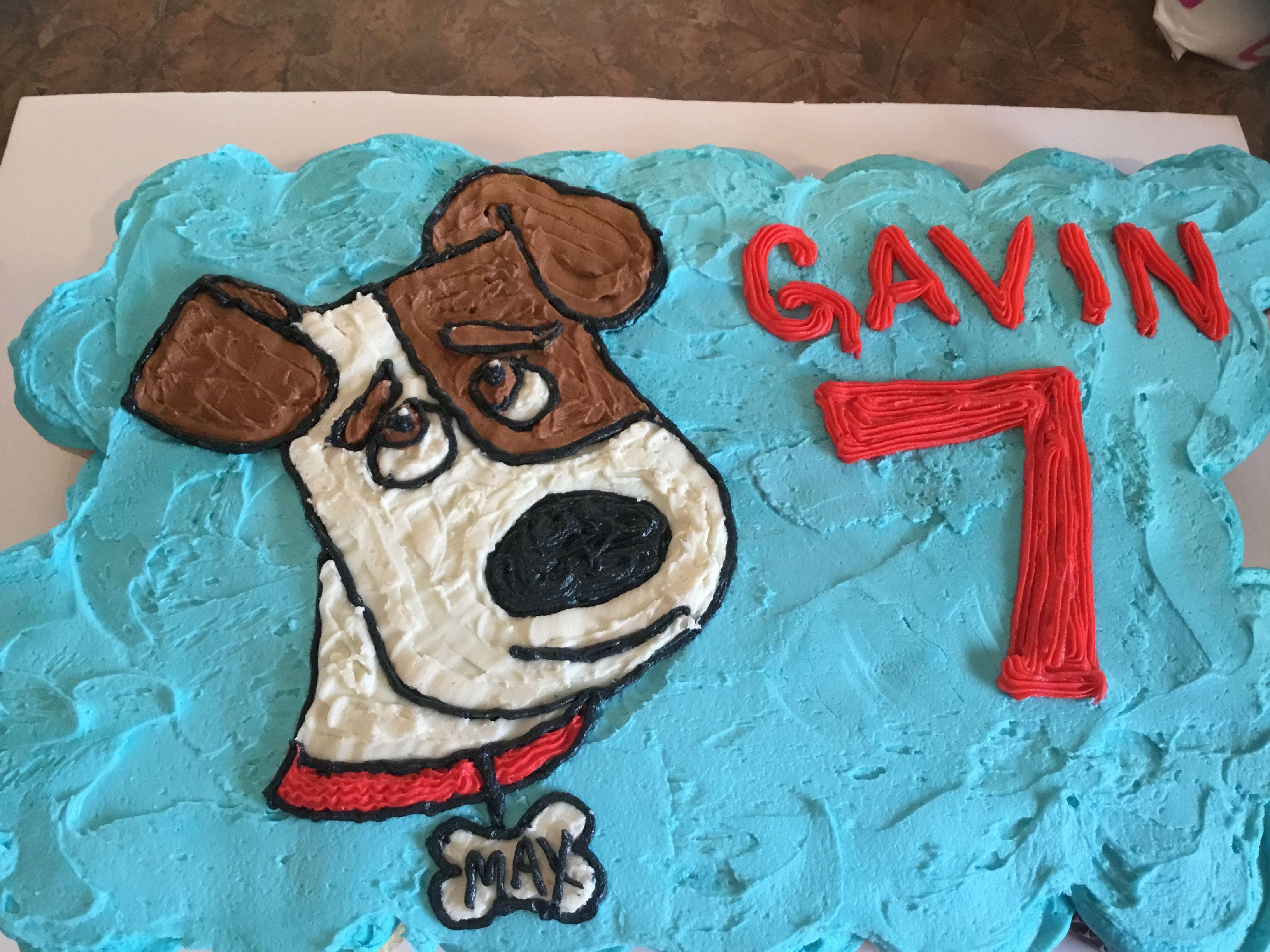 Secret Life Of Pets Max Cup Cakes Pet Max Animal Birthday Animal Cupcakes