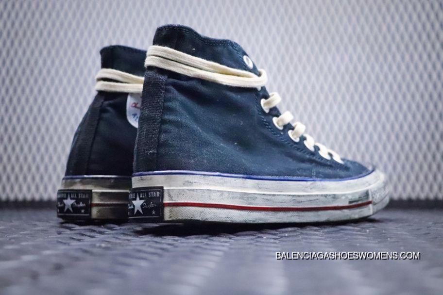 converse vintage blu