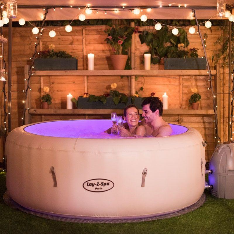 Bestway Lay Z Spa Paris Inflatable Hot Tubs Best Inflatable Hot Tub Hot Tub Outdoor