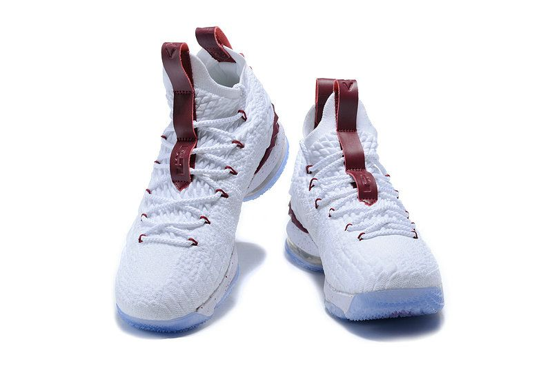 huge selection of 3de81 90266 Cheapest And Latest New Arrival March 2018 Nike Cheap LeBron 15 Rose Red  Gold Basketball Shoes
