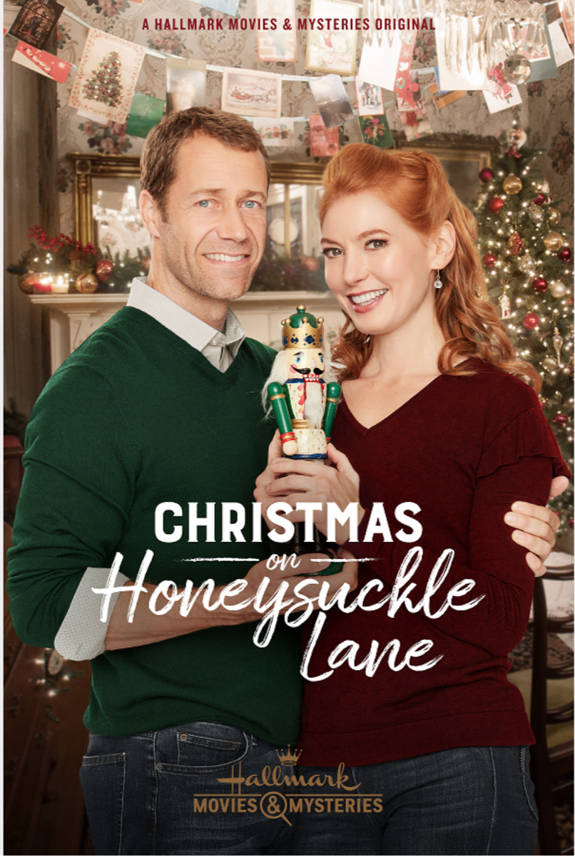 Christmas on Honeysuckle Lane (2018) with Alicia Witt & Colin Ferguson (With images) | Christmas ...