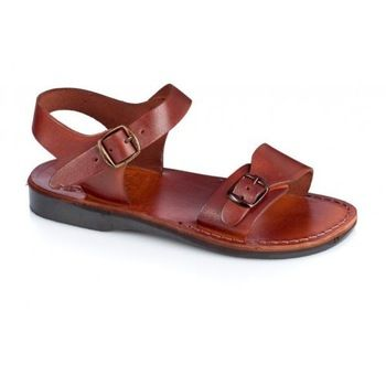 Leather sandals handcrafted in Jerusalem Jesus Sandals many sizes for men  and women jesus shoes sandals