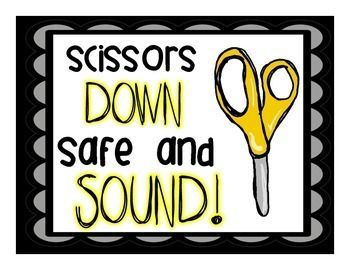 I use these rhymes when I am teaching my students about how to use and take care of their supplies at the beginning of the year. The kids chant these all year long!    Tip Up Before You Cup!  Let the Ink Sink!  Hear the Click Before You Stick!  A Big Spac