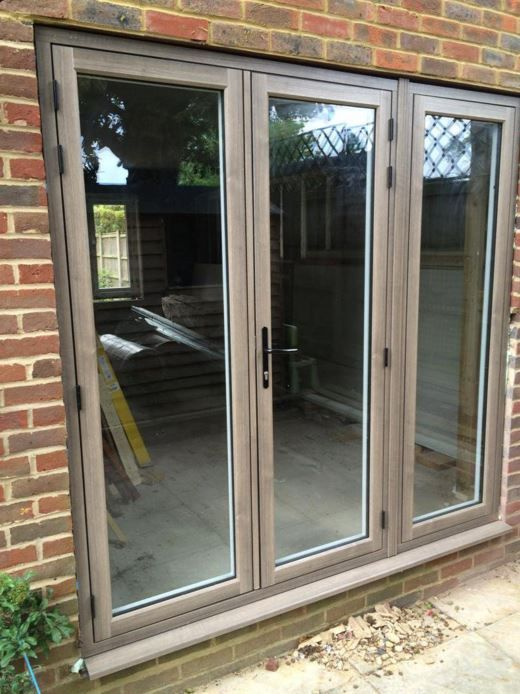 Awesome Upvc French Doors With Sidelights Part - 6: Silvered Oak Residence 9 French Doors And Sidelight By Headstart
