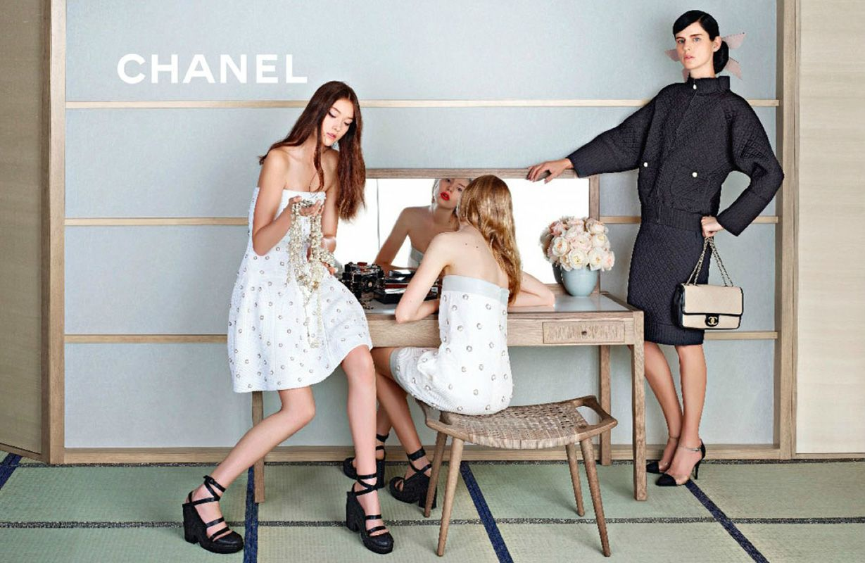 Chanel Ad Campaign Spring/Summer 2013